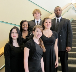 Chatham Delegates to the 2012 NC High School All-State Choral Festival from Jordan Matthews and Northwood High Schools